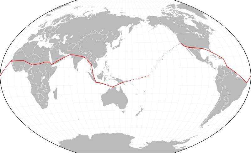 amelia earhart route