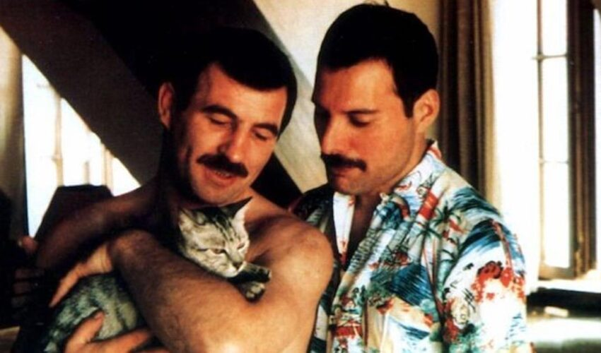 The story of Freddie Mercury and Jim Hutton