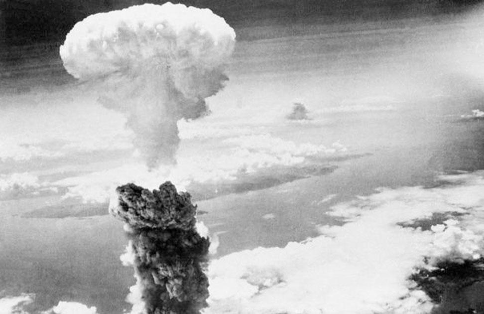 The bombing of Nagasaki