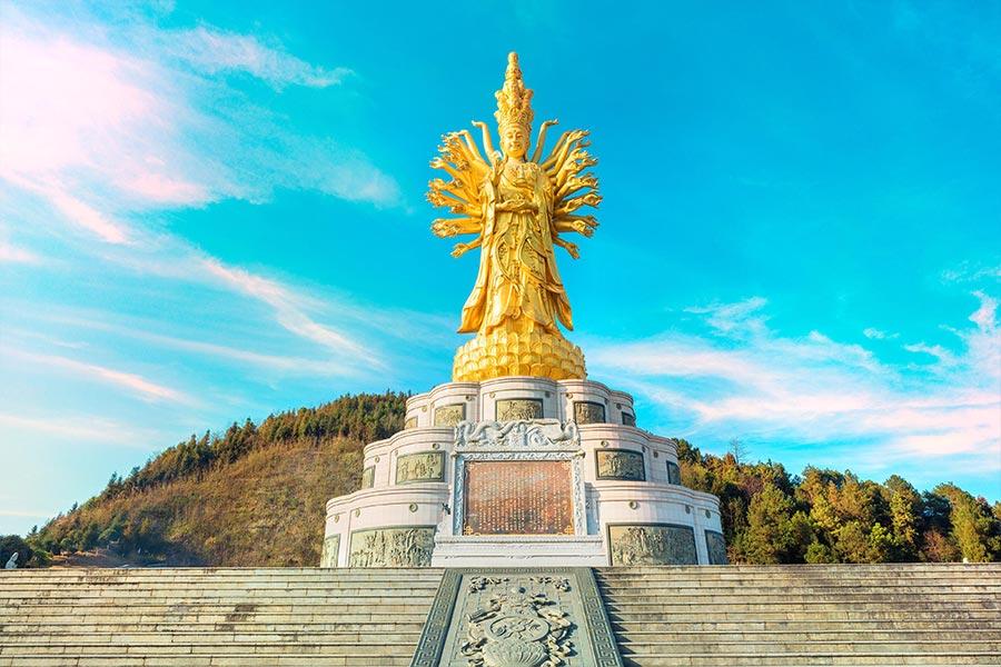 6. Guishan Guanyin, China