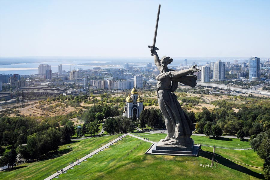 9. The Motherland calls, Russia